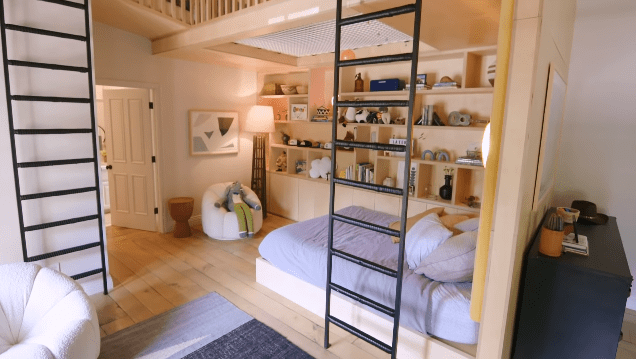 Hilary Duff's Los Angeles family home: Luca's bedroom | Photo: YouTube/Architectural Digest