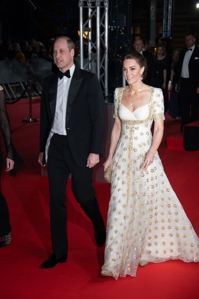 Prince William and Kate Middleton attend the BAFTAs on February 2, 2020 at Royal Albert Hall in London, England.   Photo: Getty Images