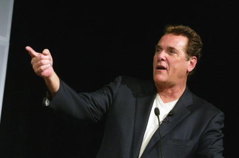 """Chuck Woolery at the """"Game Show Networks 2003 Winter TCA Tour"""" at the Renaissance Hotel in Los Angeles, California on Jan. 8, 2003. 