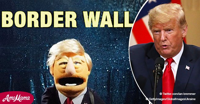 Mocking video shows a puppet Trump singing bizarre ABCs representing his presidential actions