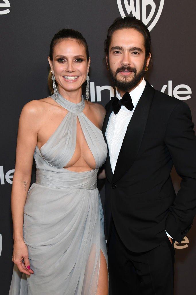 Heidi Klum und Tom Kaulitz | Source: Getty images