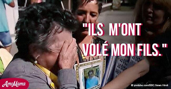 Des centaines de mères en Espagne continuent à se battre pour leurs enfants qui ont été enlevés pour du trafic d'enfants
