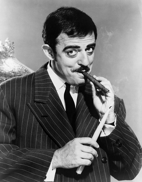 "ohn Astin, quien interpretó al personaje Gomez Addams en ""The Addams Family"". 