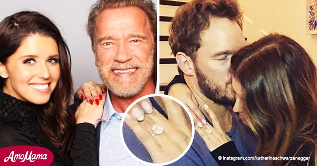 La fille d'Arnold Schwarzenegger rompt enfin le silence sur les nouvelles de ses fiançailles