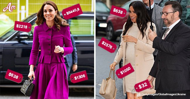 Kate Middleton's outfit beats Meghan Markle's in cost by coming in at double the price