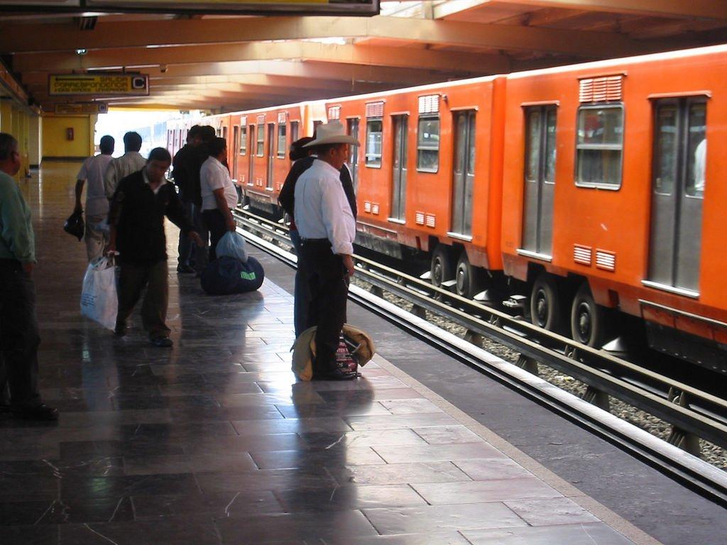 Metro de México. Fuente: Flickr