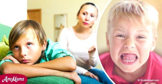 Les enfants se comportent moins bien devant leur mère - un psychologue