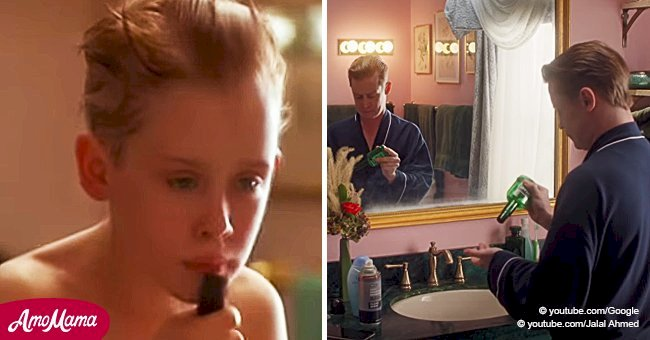 Recreation of Macaulay Culkin's best 'Home Alone' scenes will totally jog your memory