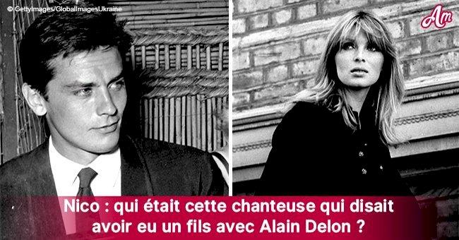 Qui était Nico, la conquète notoire d'Alain Delon, sa muse et la mère de son fils