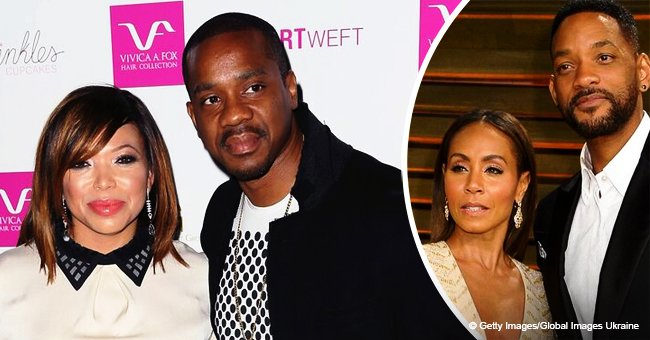 Tisha Campbell's husband Duane Martin allegedly used Jada & Will Smith's money in bankruptcy scam