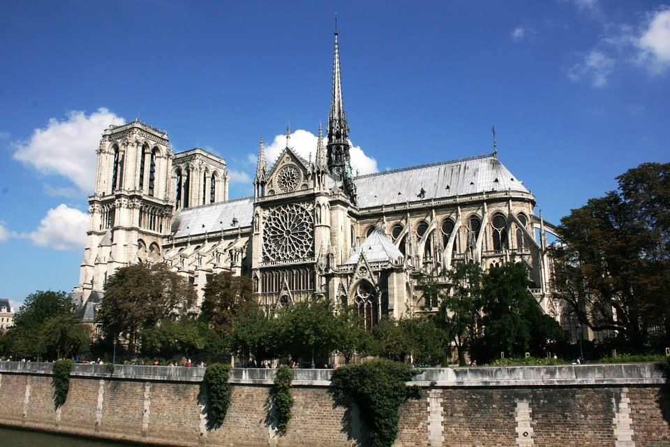 Catedral de Notre Dame, París, Francia. │ Imagen: Pixabay