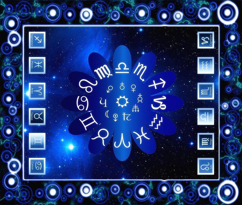 Los doce signos zodiacales. | Imagen: Pixabay