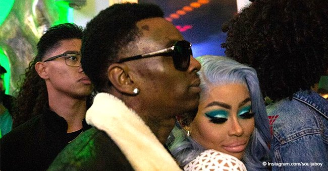 'TMZ': Soulja Boy and Blac Chyna are reportedly dating after sliding into each other's DMs