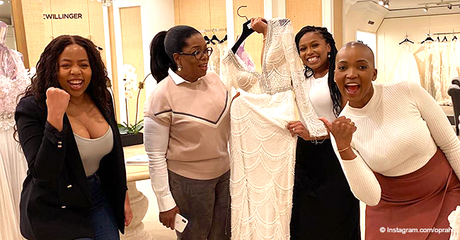 Oprah Bought $10K Wedding Dress for Her Former Student