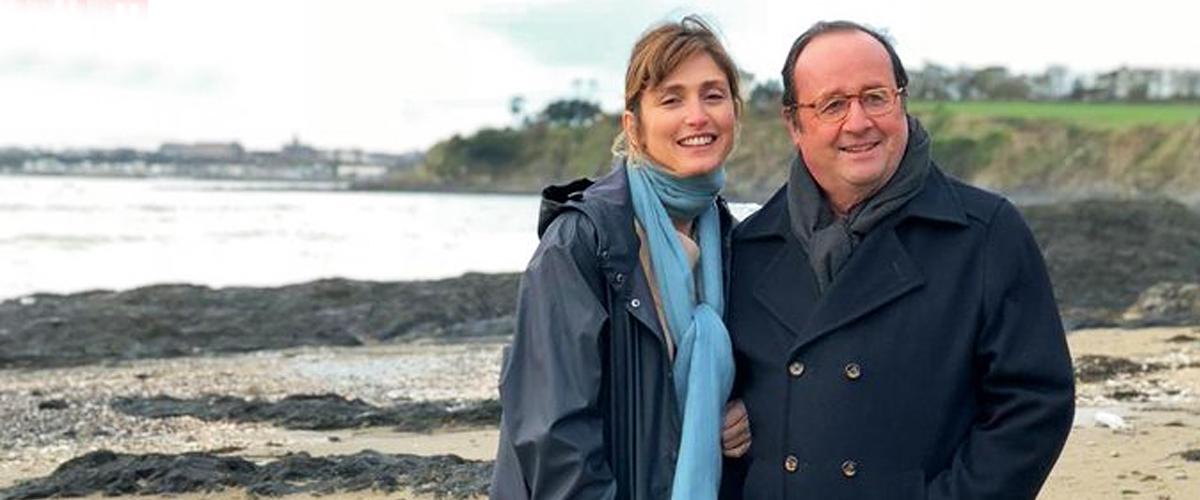 Quand Julie Gayet et François Hollande arrivent à Ramatuelle à la place du couple Macron