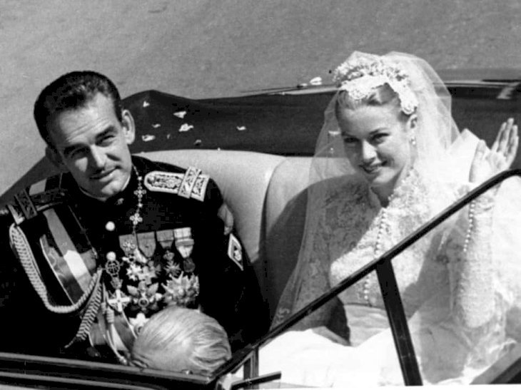 Grace Kelly et le Prince Rainier / Source : Getty Images