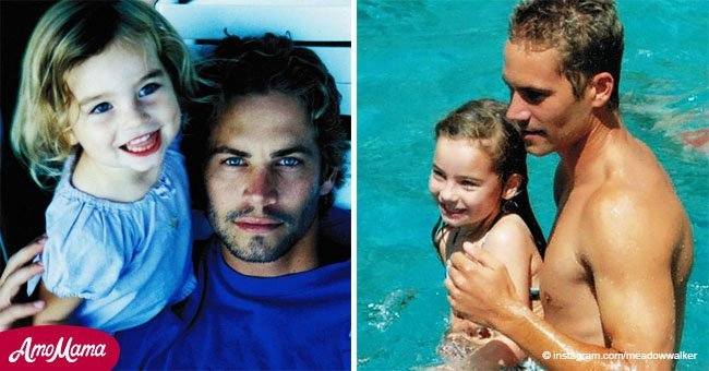 Hija de Paul Walker ya no es una niña. Tiene 19 años y es una mujer hermosa
