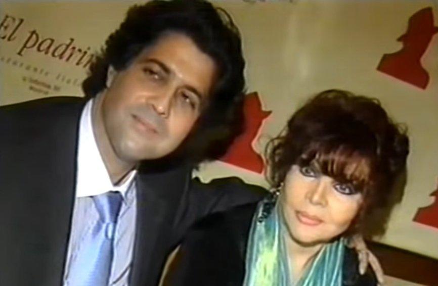 Sara Montiel junto a Tony Hernández. | Imagen: YouTube/SuperStanila
