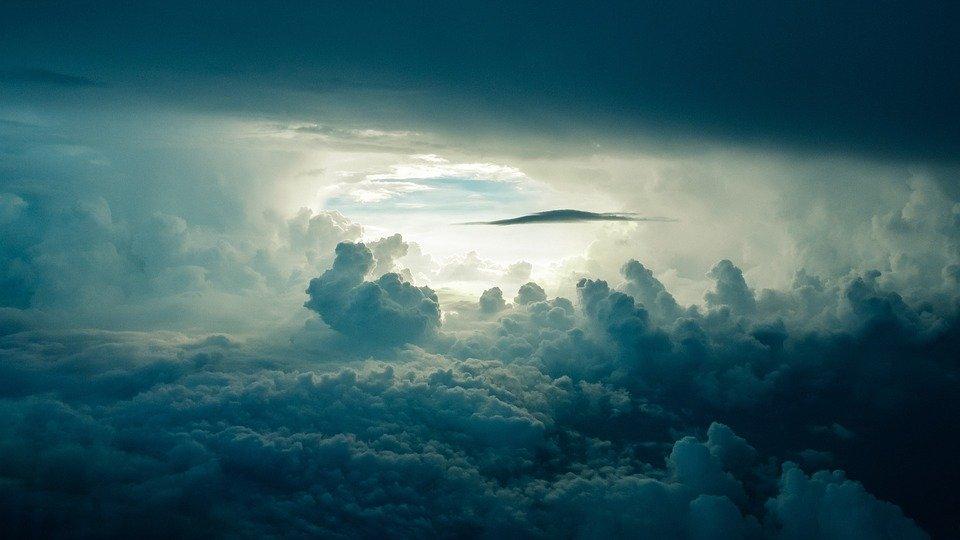 Cielo tormentoso / Imagen tomada de: Pixabay