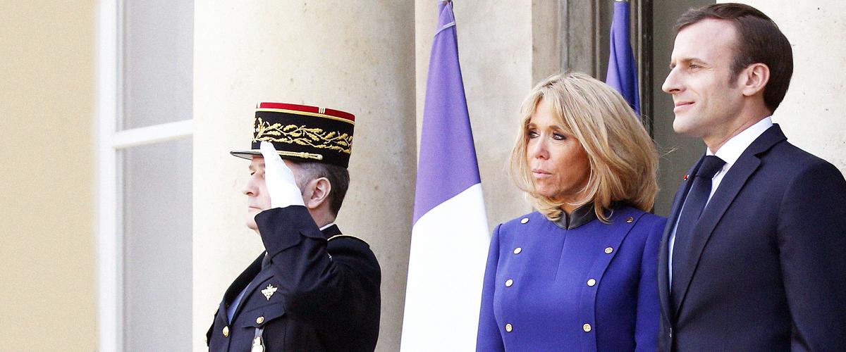 Emmanuel et Brigitte Macron chez Jacques Chirac pour lui rendre hommage