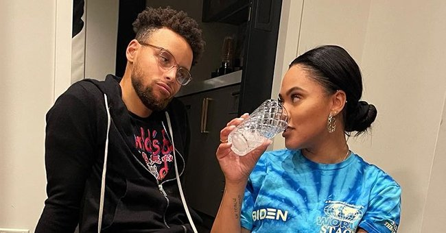 Ayesha Curry Cuddles up Next to Husband Steph on New Year's Eve – Check Out Her Message for 2021