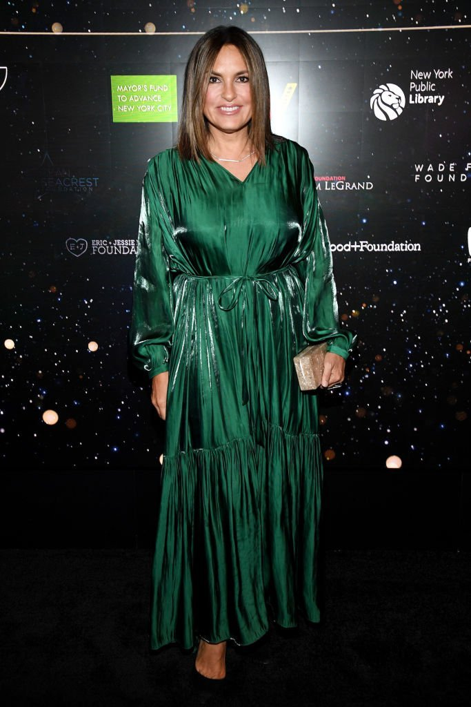 Mariska Hargitay attends Samsung Gives Annual Charity Gala at The Manhattan Center.   Photo: Getty Images