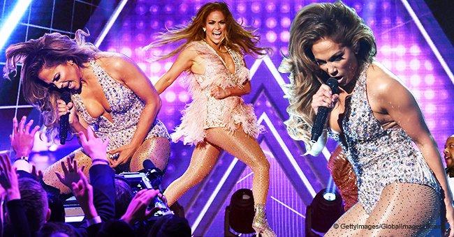 Jennifer Lopez sacude el escenario con ardiente presentación en uno de sus más atrevidos atuendos