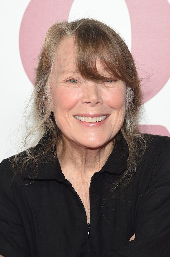 """Sissy Spacek attends the """"The Old Man & The Gun"""" premiere at Paris Theatre 