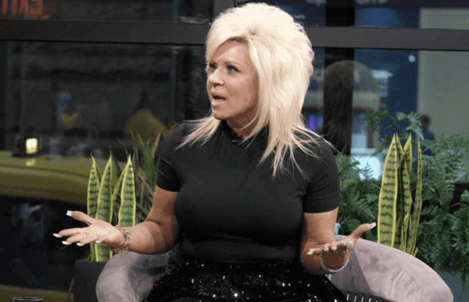 "Theresa Caputo sits down for an interview about her career and family for ""The X Change Rate"" at Build Studio, on October 15, 2019, New York City 