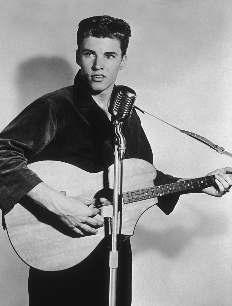 American singer and actor Ricky Nelson (1940 - 1985), circa 1955. | Getty Images