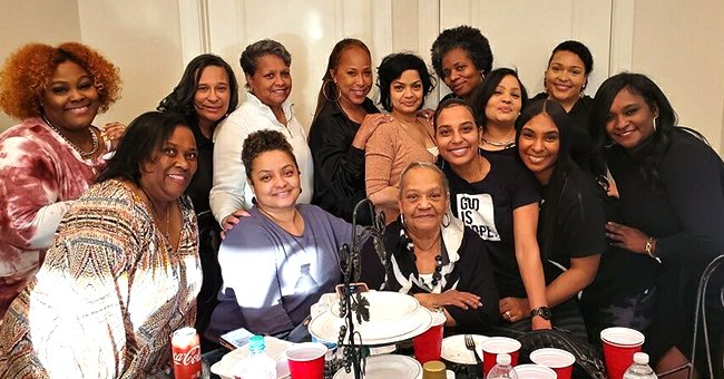 Steve Harvey's Wife Flaunts Her Strong DNA Posing with Female Members of Her Family in Rare Pic
