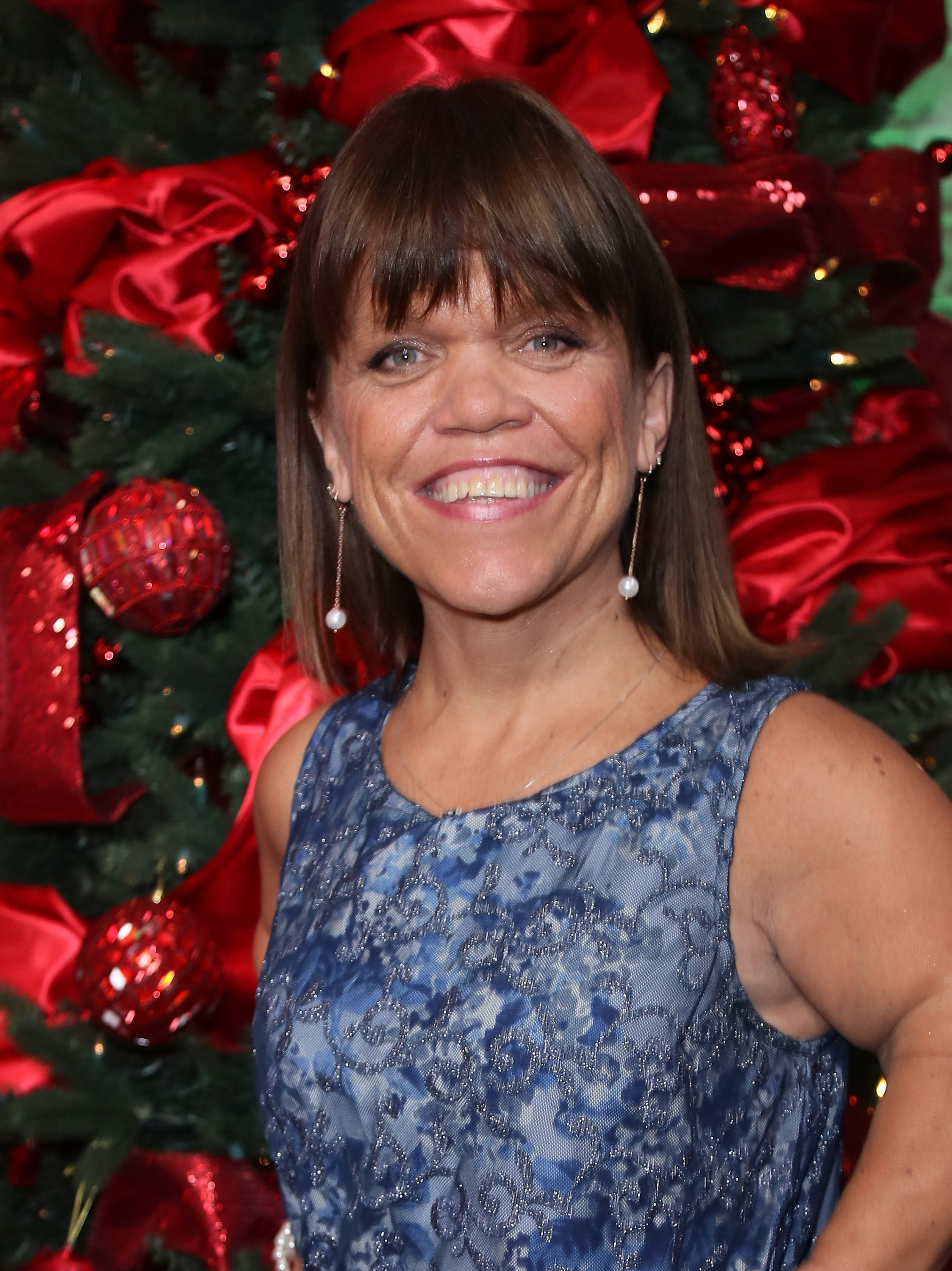 Amy Roloff visits Hollywood Today Live on December 13, 2016, in Hollywood, California. | Source: Getty Images.