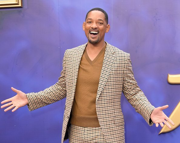 """Will Smith attends the """"Aladdin"""" European Gala at Odeon Luxe Leicester Square in London, England   Photo: Getty Images"""