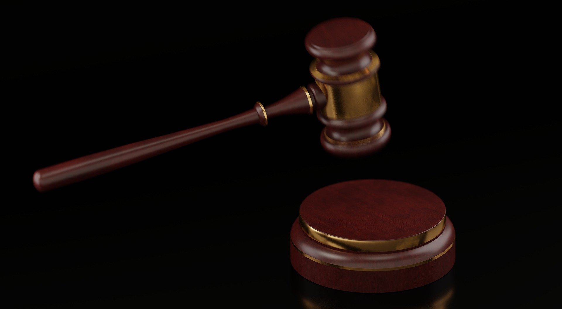Pictured - A gavel used in the courtroom by a judge   Source: Pixabay