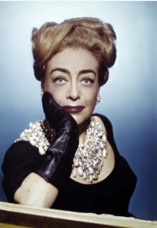 American Actress Joan Crawford. | Source: Getty Images