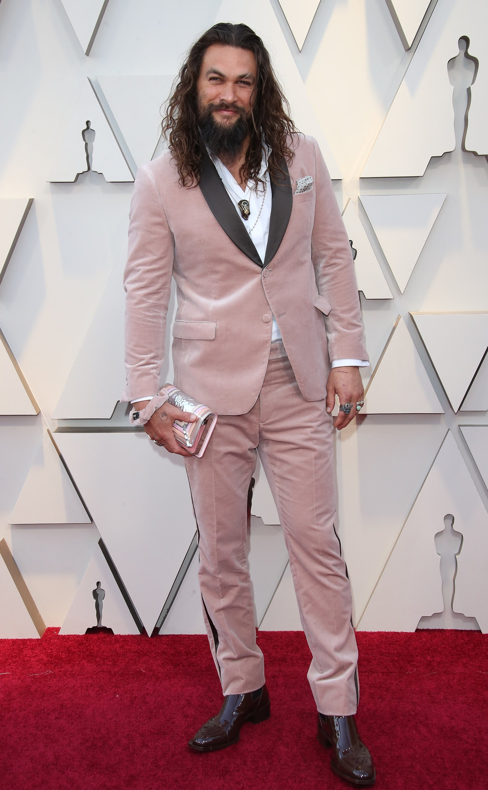 Jason Momoa attends the 2019 Oscars | Photo: Getty Images