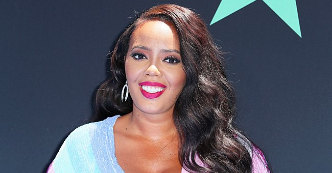 Check Out Angela Simmons Flaunting Her Killer Curves in a Skimpy Green Bikini on the Beach