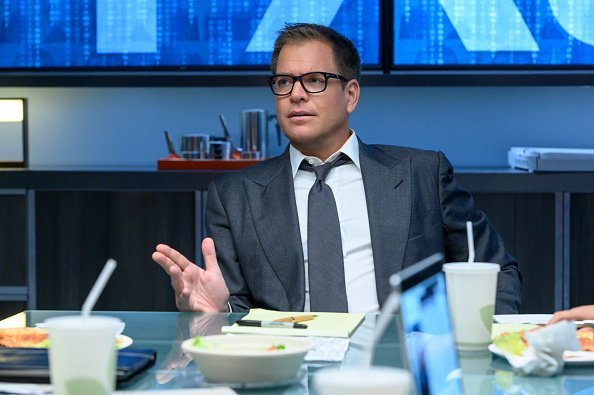 """Michael Weatherly as Dr. Jason Bull on the show, """"NCIS"""" 