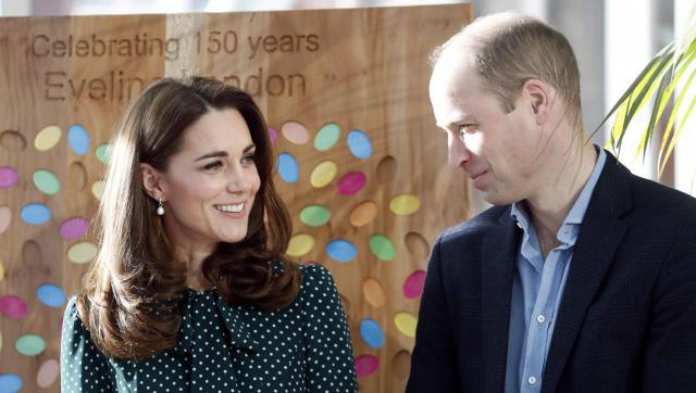 La photo de Kate Middleton et Prince William | Source: Twitter Non Stop People