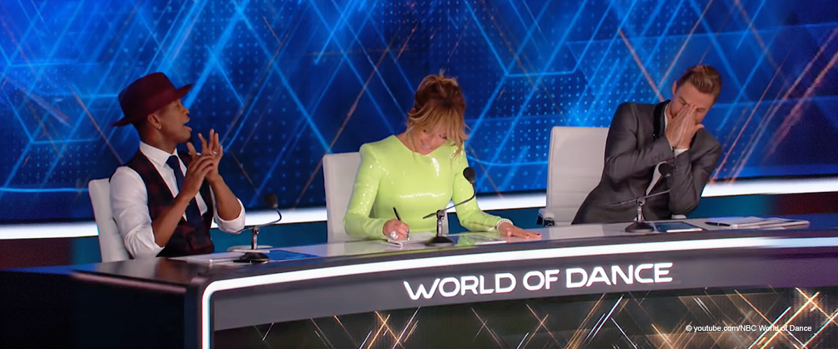 Jennifer Lopez Dazzles in $2,300 Sequin Latex Dress as She Continues to Judge 'World of Dance'