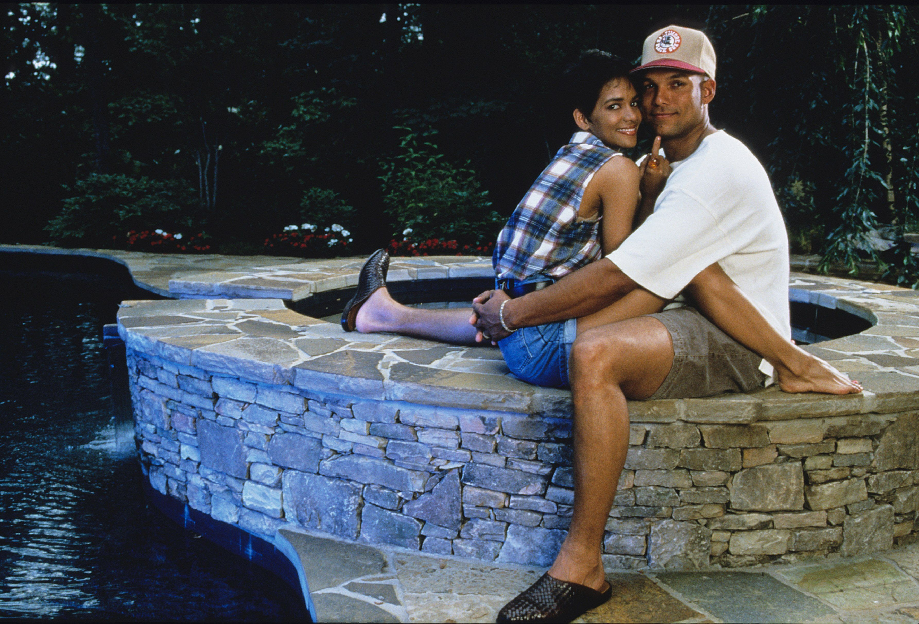 Halle Berry and David Justice at a pictorial | Source: Getty Images