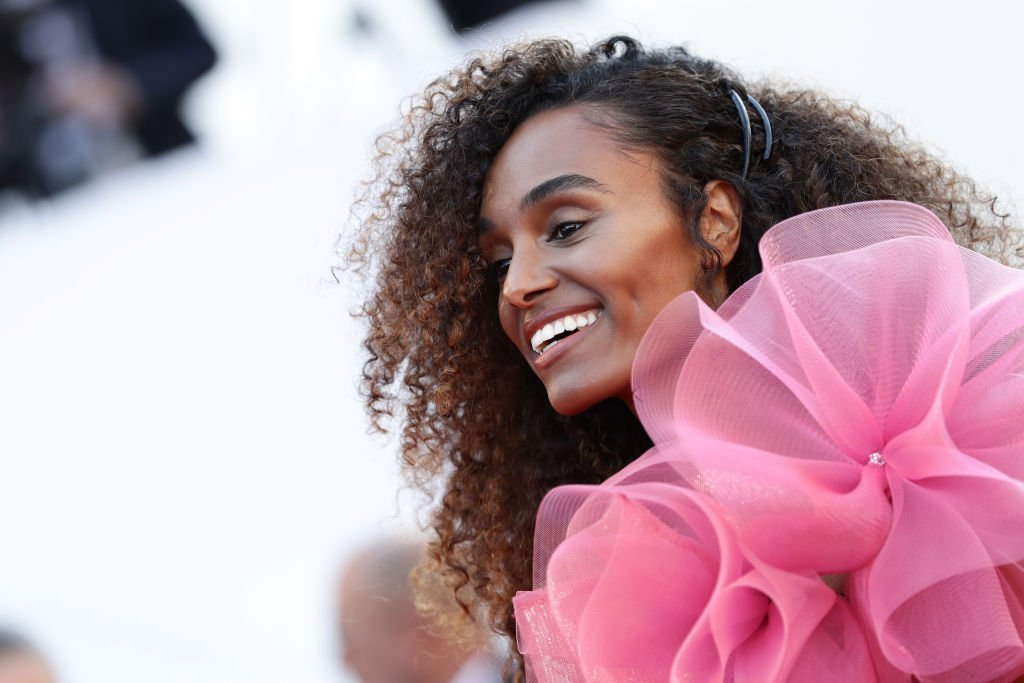 "Gelila Bekele attends the screening of ""Rocketman"" during the 72nd annual Cannes Film Festival 