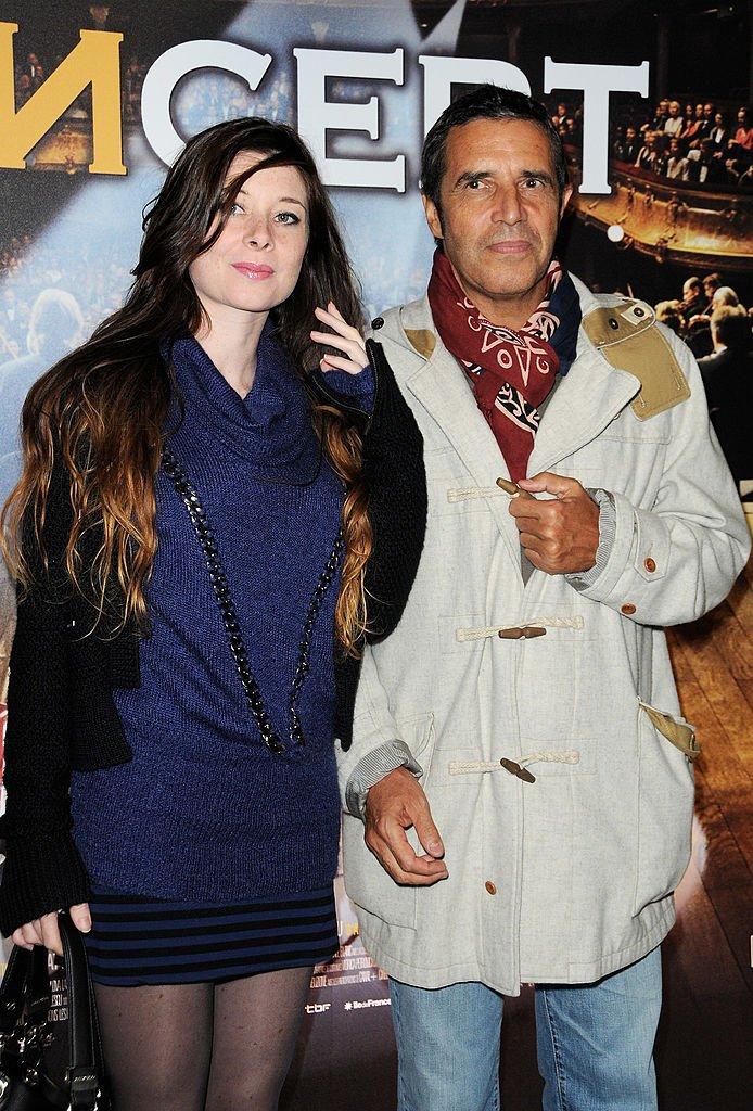 Julien Clerc et Hélène Grémillon en 2009 à Paris. l Source : Getty Images
