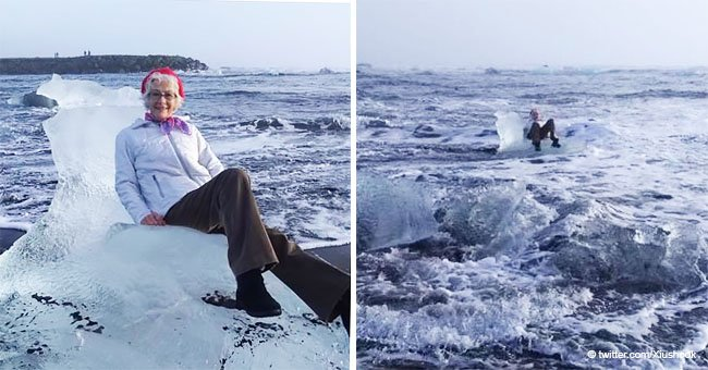 Texas Grandma Tried to Take Photo on an 'Ice Throne' but Ended up Drifting out to Sea