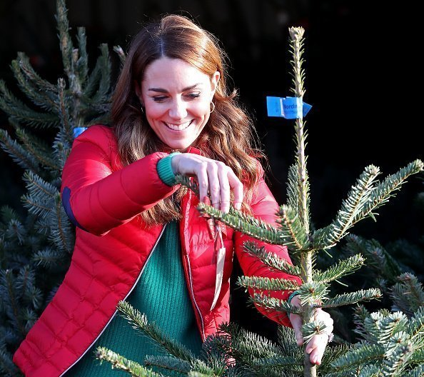 Duchess of Cambridge joins families and children who are supported by the charity Family Action at Peterley Manor Farm on December 04, 2019 in Great Missenden, England | Photo: Getty Images