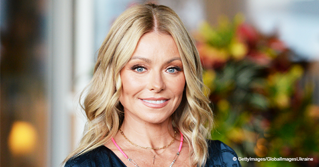 Kelly Ripa Looks Stunning in this Throwback Photo from 20 Years Ago