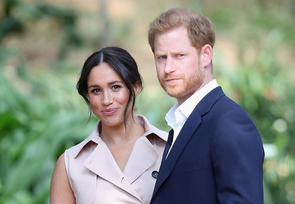Prince Harry, and Meghan at a Creative Industries and Business Reception on October 02, 2019 | Photo: Getty Images