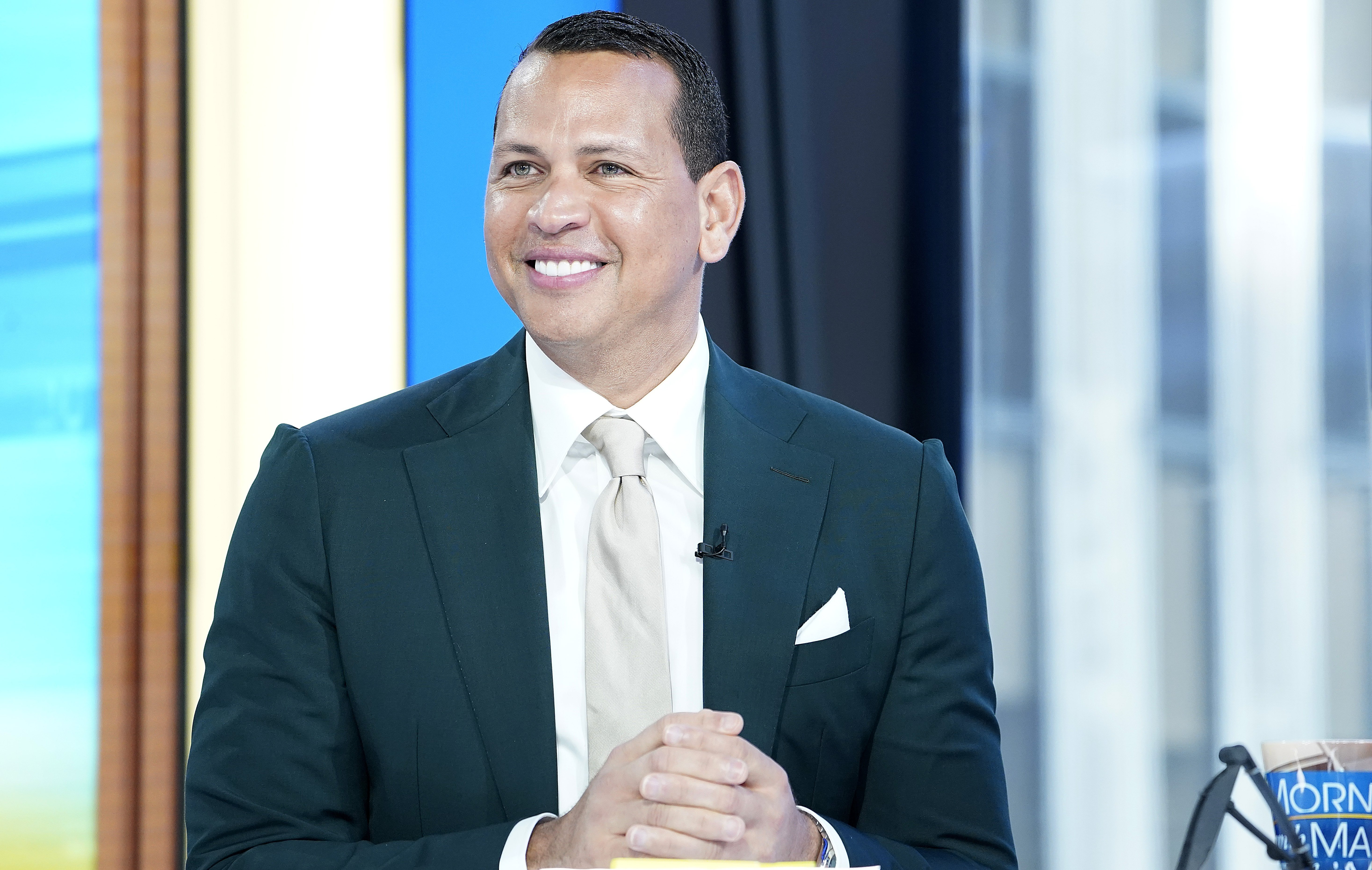 Alex Rodriguez on 'Mornings With Maria' at Fox Business Network Studios on August 08, 2019 in New York City | Photo: Getty Images