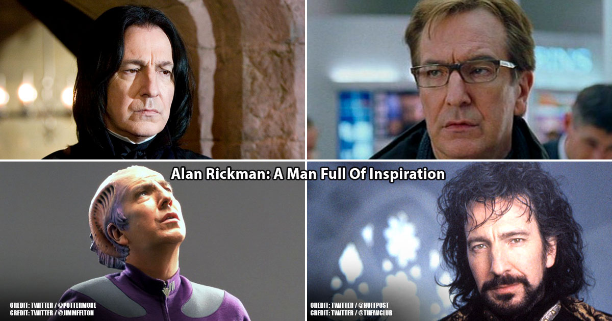 Alan Rickman Might Be Gone But He Left Us With A Lot To Think About