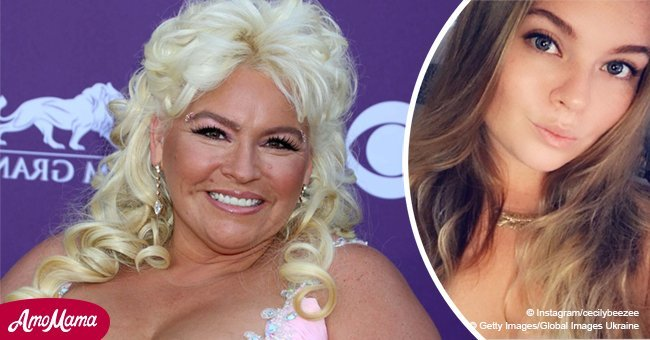 Beth Chapman poses with 'mini' daughter and she is a copy of her famous mom